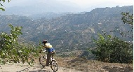 Cycling in Nepal, the Scarroad